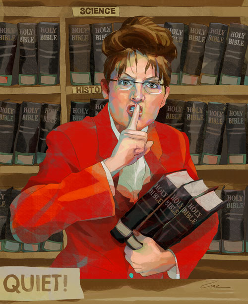 Palin Cookin' the Books